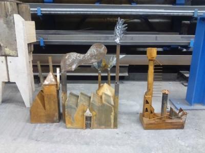 Atelier sculptures inspiration «usines»